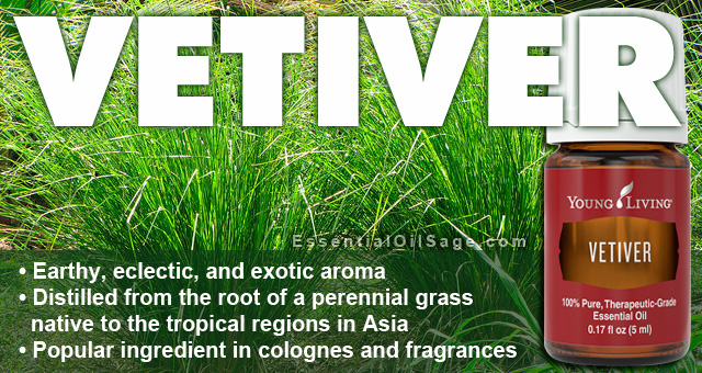 Young Living Vetiver Essential Oil
