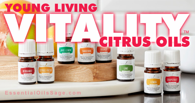 Young Living Vitality Citrus Oils