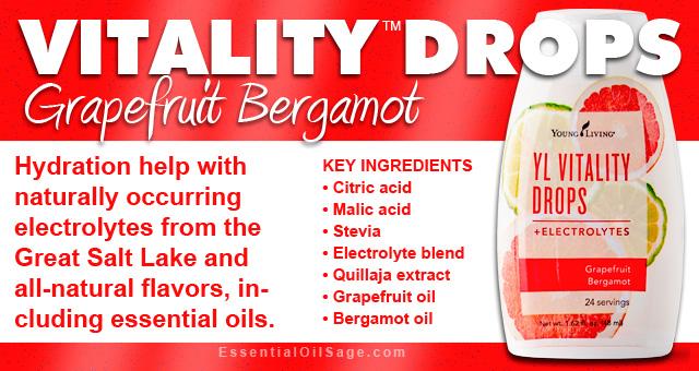 Vitality Drops Grapefruit Bergamot