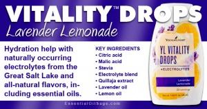 Vitality Drops Lavender Lemonade