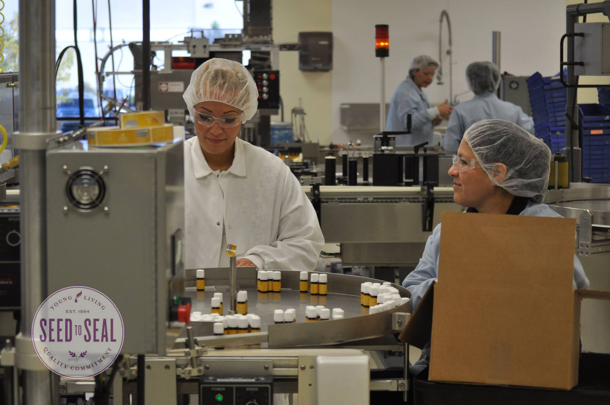 Labeling Young Living bottles