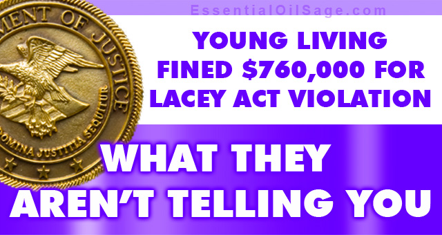 Young Living Lacey Act Violation